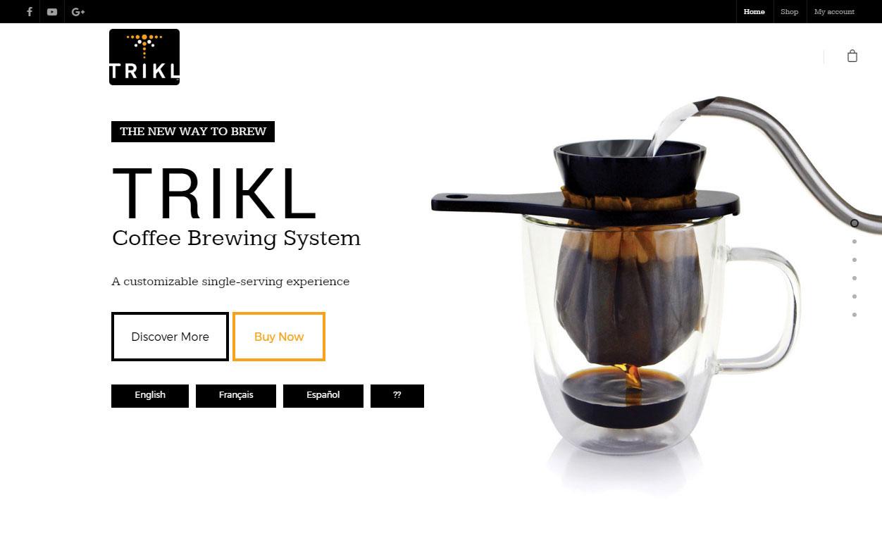 Trikl Website Goes Live